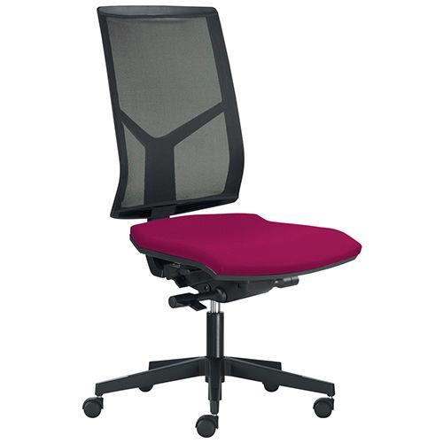 Bureaustoel Zonder Armleuning.Bureaustoel Opus Netbespanning Bureaustoel Shop Be